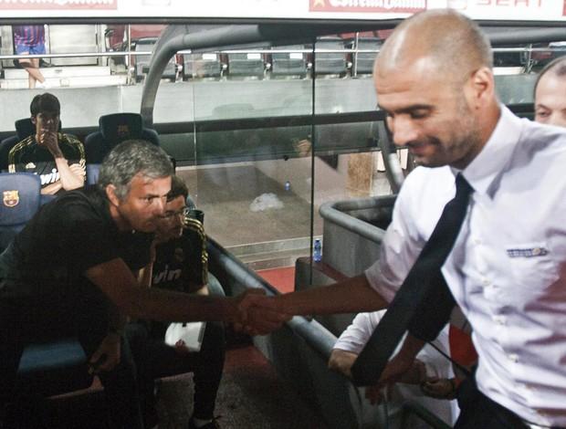 real madrid x barcelona guardiola mourinho (Foto: EFE)