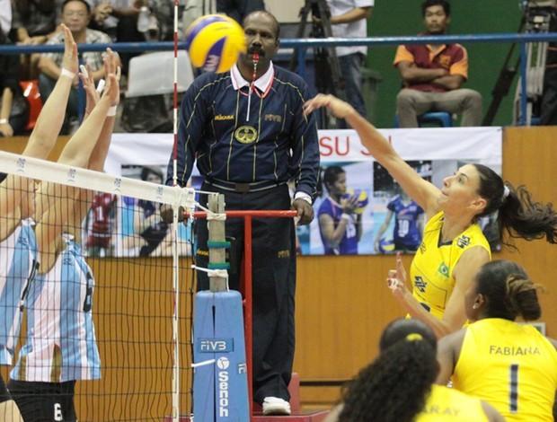 Sheilla, Seleção Brasileira, Grand Prix (Foto: FIVB / Divulgação)