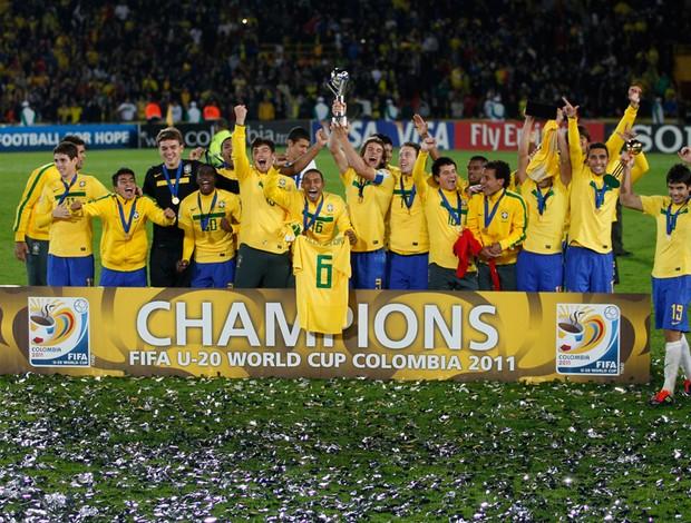 brasil campeão mundial sub 20 (Foto: AP)