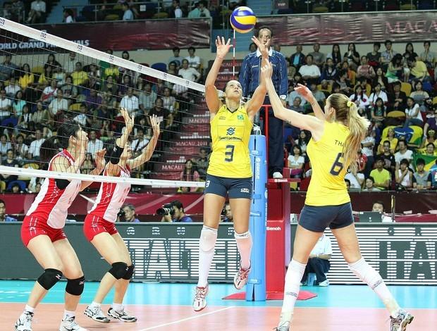 Brasil 3 x 0 Japão, Grand Prix, fase final (Foto: FIVB / Divulgação)