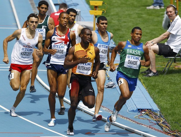 Kleberson Davide, 800m Mundial de Daegu (Foto: Reuters)