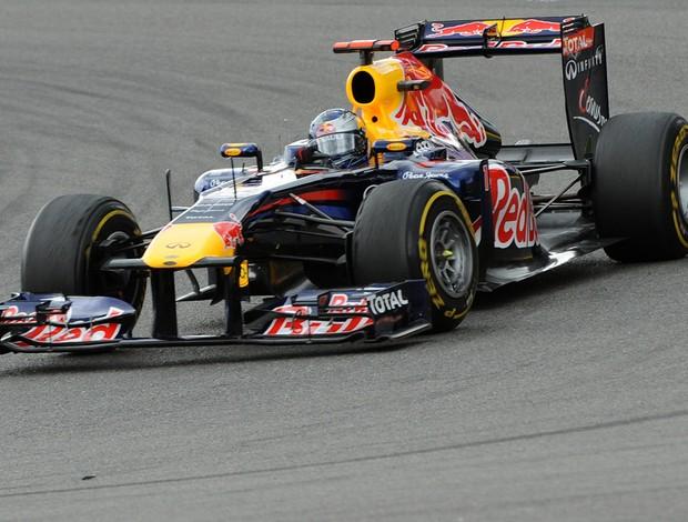 Formula 1 - GP da Bélgica - Vettel (Foto: AFP)