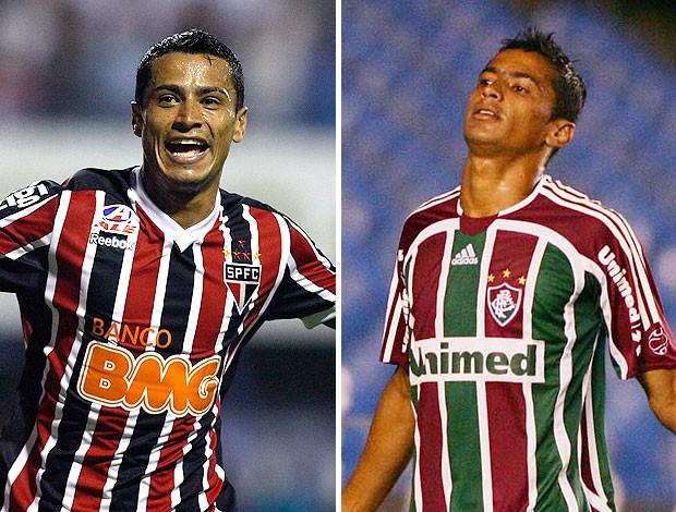 montagem Cicero São Paulo Fluminense (Foto: Editoria de Arte / GLOBOESPORTE.COM)