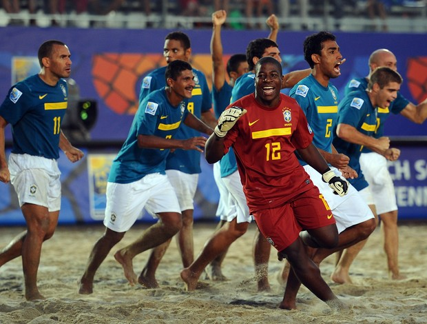 Brasil futebol de areia ravenna (Foto: Getty Images)