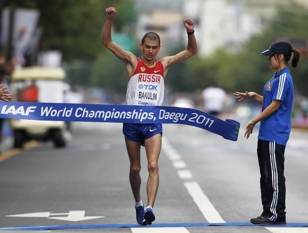 Bakulin, marcha atlética Mundial (Foto: Reuters)