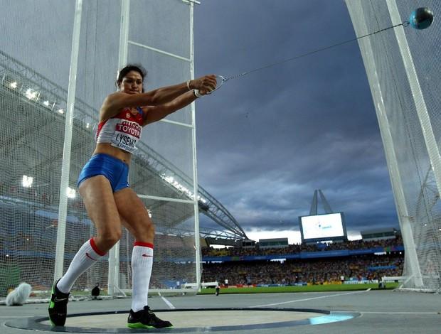 atletismo mundial Tatyana Lysenko lançamento de martelo (Foto: ap)