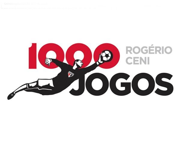 imagem marca rogério ceni 1000 gols são paulo (Foto: Divulgação Site Oficial do São Paulo)