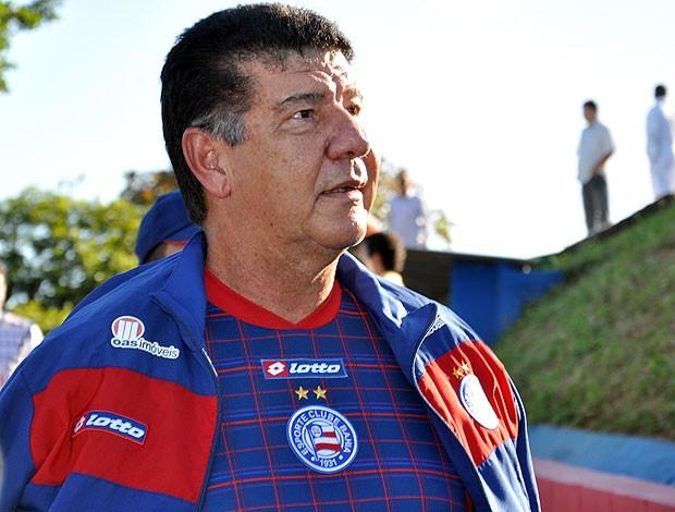 joel santana chega ao bahia (Foto: Eric Luis Carvalho/Globoesporte.com)