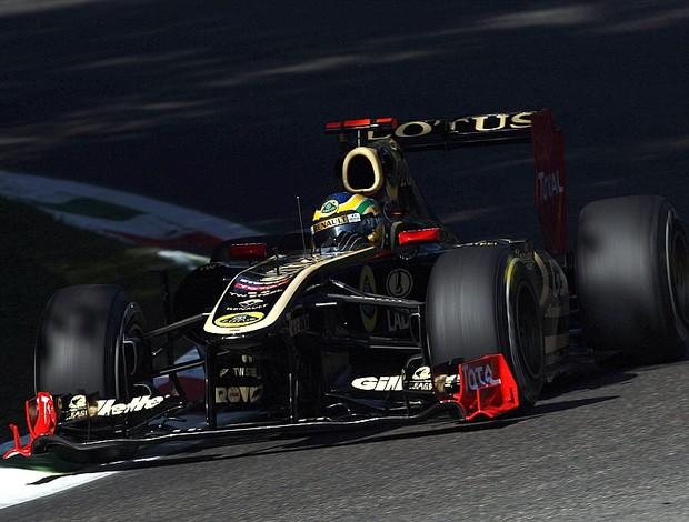 Bruno Senna treino livre GP da Itália Monza Renault-Lotus (Foto: Getty Images)