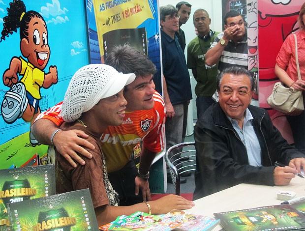 ronaldinho gaúcho flamengo bienal (Foto: Richard Souza/Globoesporte.com)
