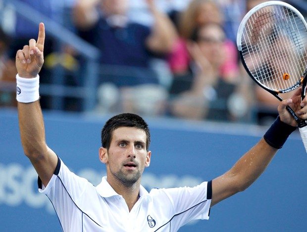 Novak Djokovic tênis US Open final (Foto: Reuters)
