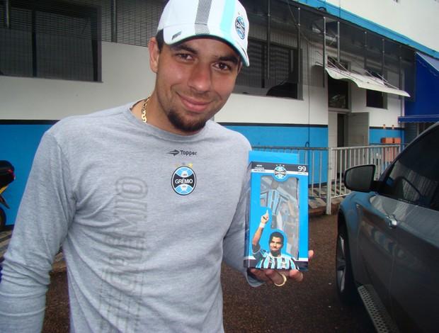 Boneco do André Lima, do Grêmio (Foto: Divulgação/Ninibin)