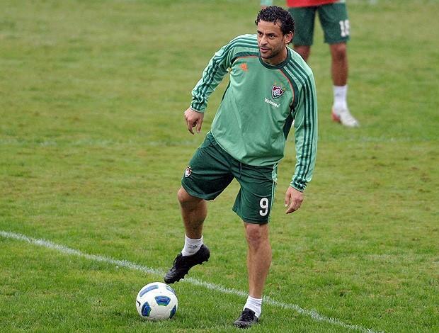 Fred treino Fluminense (Foto: Photocâmera)