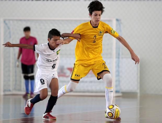 Paraíba vence no futsal masculino e sonha com a classificação nas Olimpíadas Escolares 2011 de 12 a 14 anos  (Foto: Gaspar Nóbrega/COB)