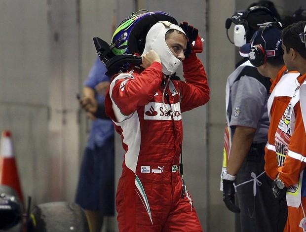 Felipe Massa Ferrari GP de Cingapura (Foto: Reuters)