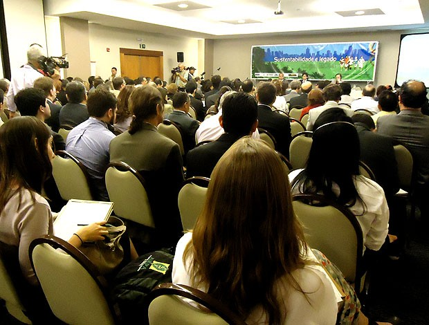 Seminário do Legado da Copa em Manaus (Foto: Marcelo Junior / Globoesporte.com)