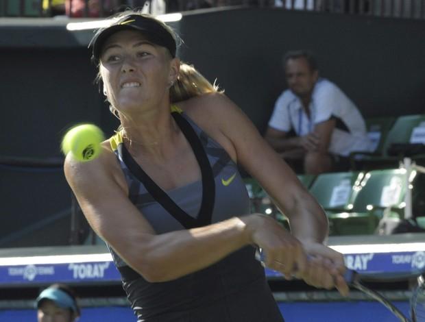 Sharapova vence alemã e segue no WTA de Tóquio