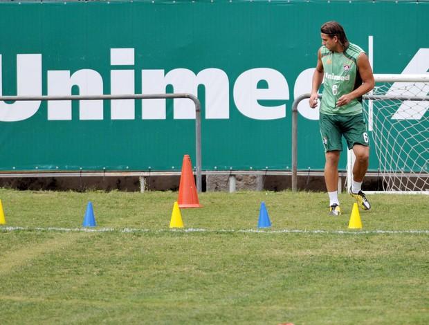 rafael moura treino laranjeiras (Foto: Dhavid Normando/Photocamera)
