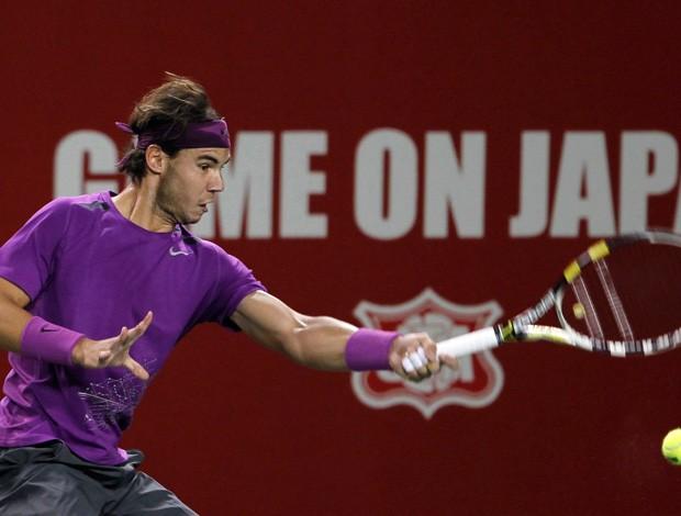Nadal estreia no ATP de Tóquio com fácil vitória sobre japonês