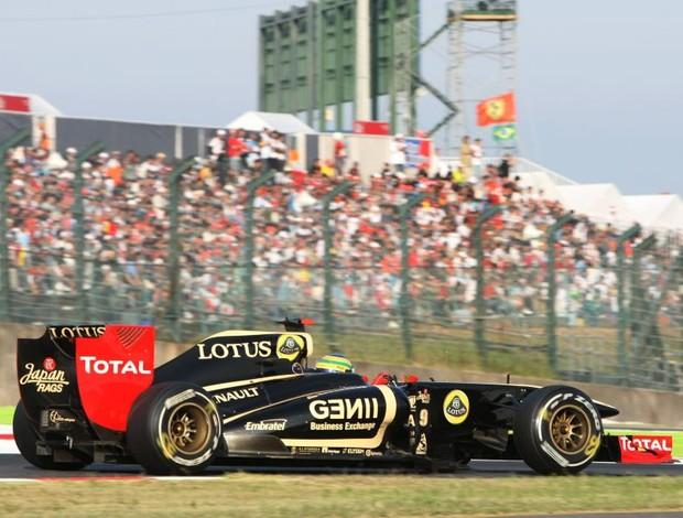 Bruno Senna GP do Japão Suzuka Renault-Lotus (Foto: Divulgação)
