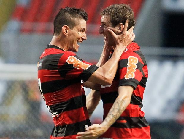 Thiago Neves Botinelli gol Flamengo (Foto: Ag. Estado)