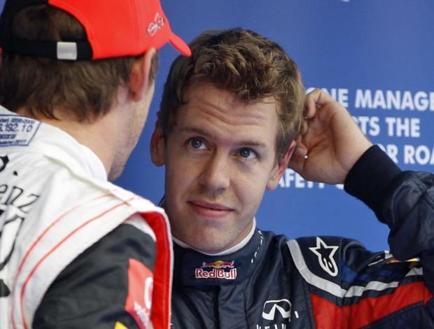 Sebastian Vettel RBR GP da Coreia do Sul treino classificatório Yeongam (Foto: Reuters)