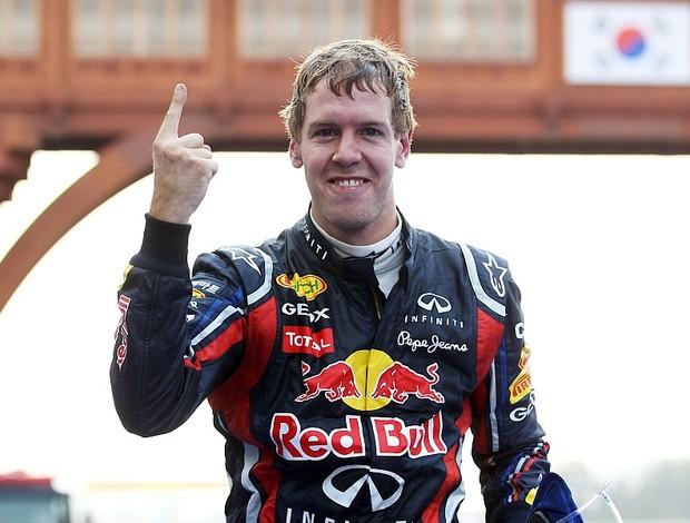 Sebastian Vettel vitória GP da Coreia do Sul Yeongam RBR (Foto: Getty Images)