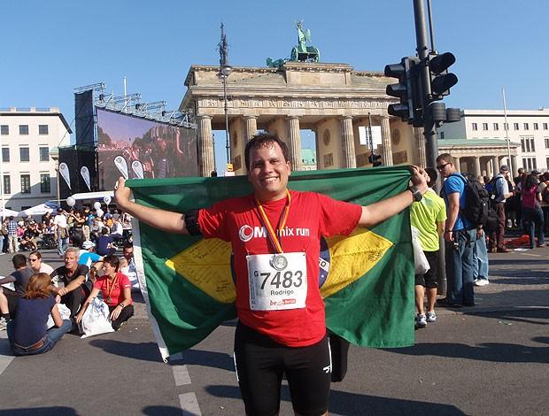 Corrida de rua Maratonas por aí Europa (Foto: Arquivo Pessoal)