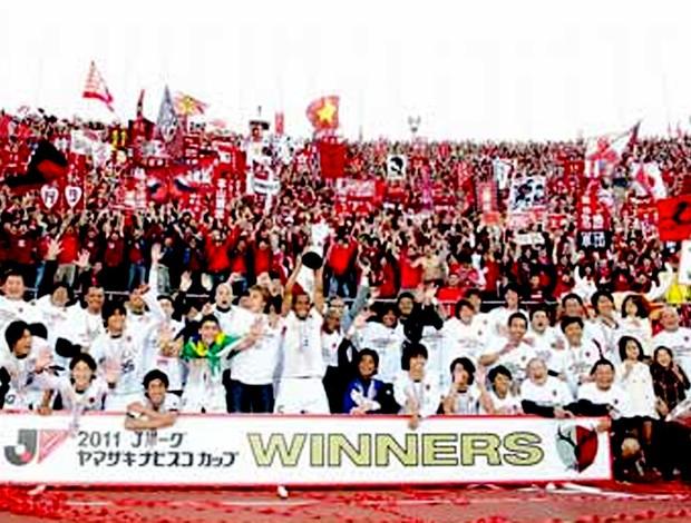 kashima antlers campeão japonês (Foto: Reprodução J-League)
