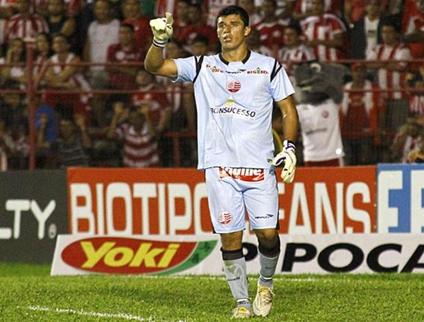 Rodrigo Carvalho, goleiro do Náutico (Foto: André Nery / Agência Náutico)