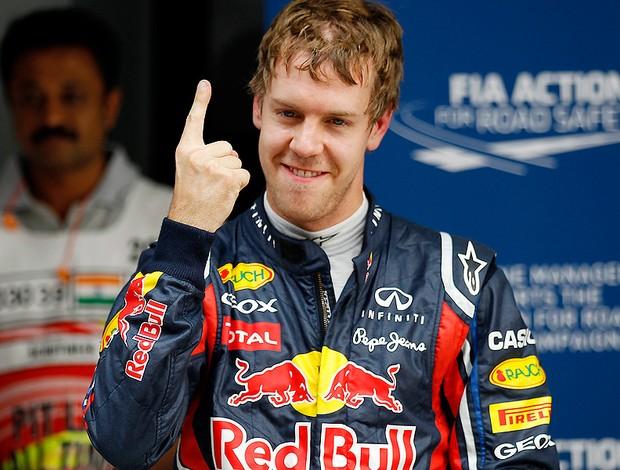 Vettel rbr gp da índia (Foto: Agência AP)