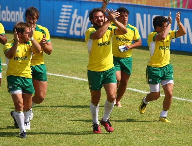 Brasil rúgbi volta olímpica (Foto: Luiz Pires / VIPCOMM)