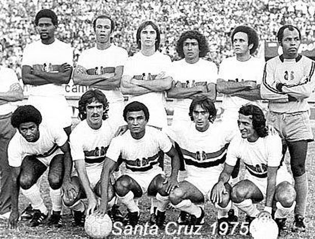 Santa Cruz, 1975 (Foto: Divulgação/Santa Cruz)