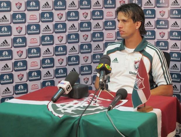 diguinho fluminense entrevista (Foto: Edgard Maciel de Sá / GLOBOESPORTE.COM)