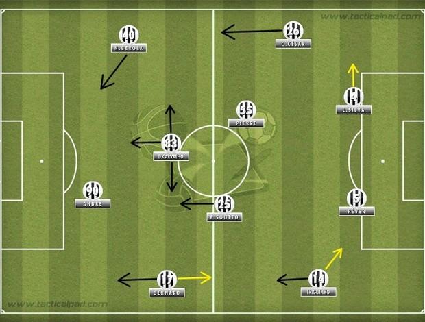 Campinho Atlético Mineiro - Cuca (Foto: André Rocha / Olho Tático / Globoesporte.com)