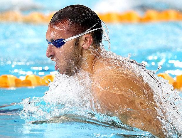 Ian Thorpe na prova dos 100m na natação (Foto: Getty Images)