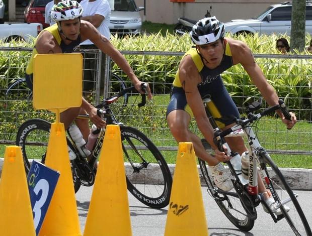 Segunda etapa do Brasileiro de triatlo olímpico, em Vitória (Foto: Divulgação/Pauta Livre)