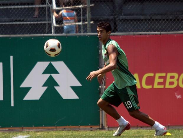 lanzini fluminense treino (Foto: Ralff Santos/FluminenseF.C.)
