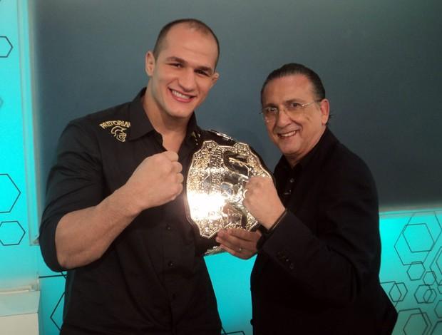 Júnior Cigano UFC MMA entrevista Bem Amigos 8 (Foto: Ana Hissa / SporTV)