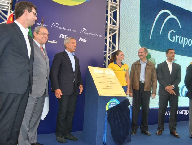Núcleo de Alto Rendimento São Paulo inauguração (Foto: João Gabriel Rodrigues / Globoesporte.com)