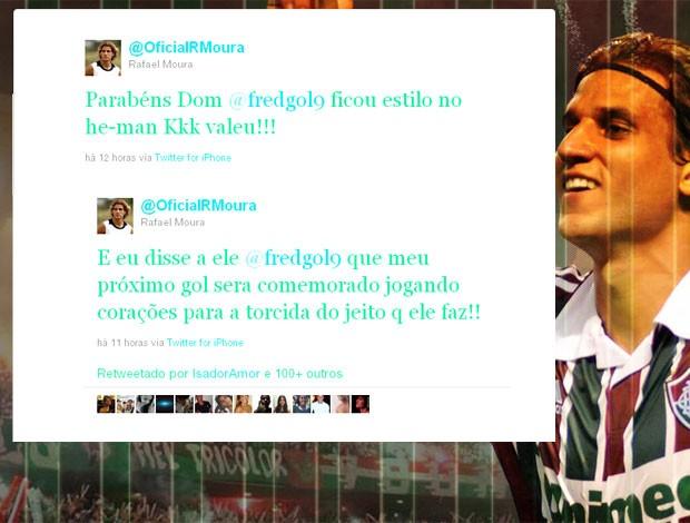 Rafael Moura twitter Fred  (Foto: Reprodução / Twitter)