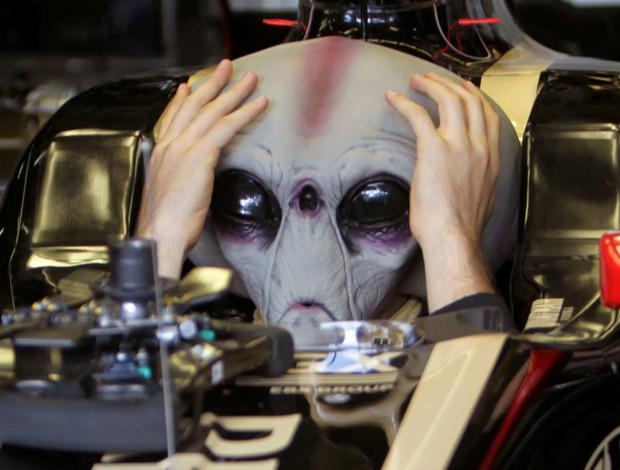 bruno senna fórmula 1 máscara et (Foto: EFE)