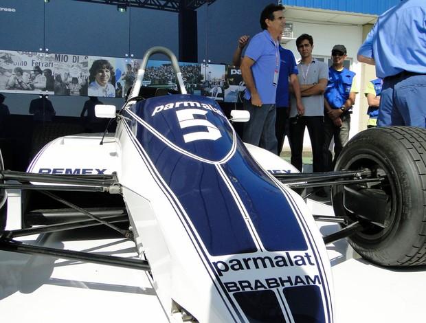 Nelson Piquet Brabham Interlagos GP do Brasil (Foto: Rafael Lopes/GLOBOESPORTE.COM)
