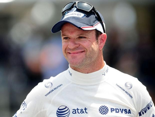 Rubens Barrichello em Interlagos (Foto: Duda Bairros)