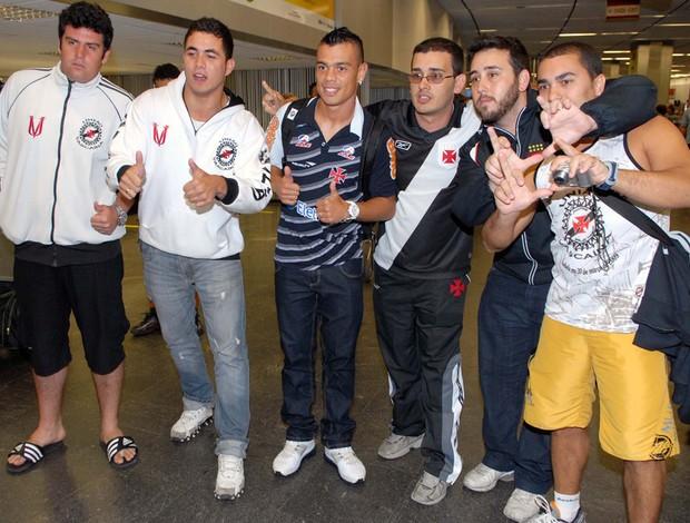 bernardo embarque vasco (Foto: Alexandre Durão/Globoesporte.com)
