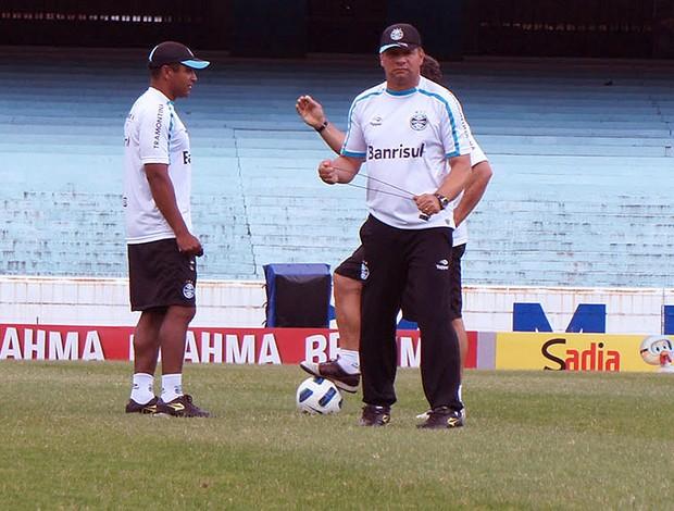Celso Roth no Grêmio (Foto: Diego Guichard  / GLOBOESPORTE.COM)