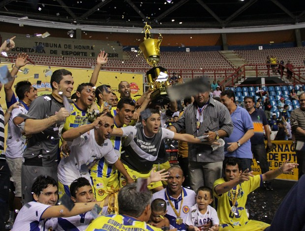 Afagu Russas Campeão Cearense de Futsal 2011 (Foto: Bruno Gomes/ Agência Diário)