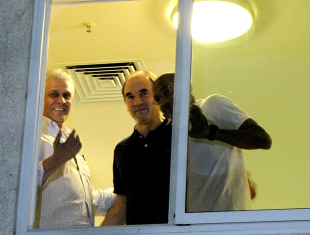 dinamite ricardo gomes cristovão borges vasco hotel concentração (Foto: André Casado / Globoesporte.com)