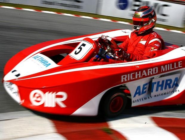 Jules Bianchi Desafio das Estrelas de kart (Foto: Carsten Horst)