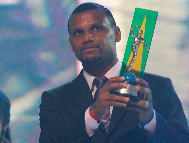 jefferson prêmio craque do brasileirão (Foto: Gustavo Tilio / GLOBOESPORTE.COM)